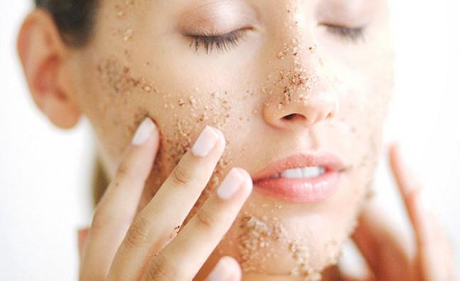 Exfoliants help remove dead skin